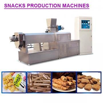 100-800kg/h High Quality Capacity Snacks Making Machine With Long Life