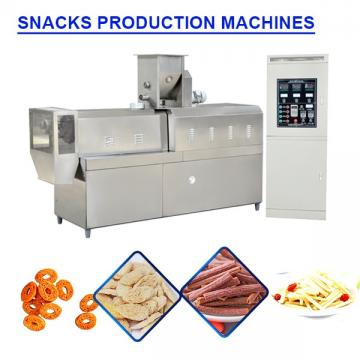 CE Compliant Most Popular  Snacks Frying Machine,snack Food Making Machine