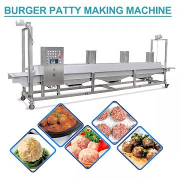 Automatic Industria Small Scale Hamburger Patty Maker With Easy Cleaning