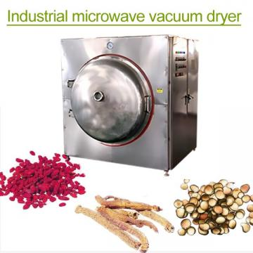 Continuous Automatic Microwave Vacuum Dryer Machine With Adjusted Speed