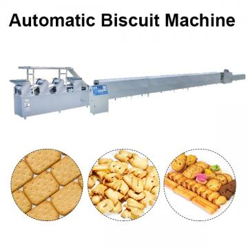 50kw Hot Sale Biscuit Making Machine With Dough As Main Materials
